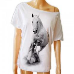 Tunika z galopującym koniem