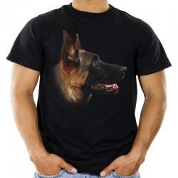 Koszulka z owczarkiem niemieckim