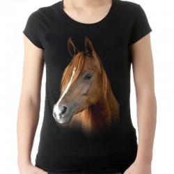 Koszulka damska z Koniem Eagle Style