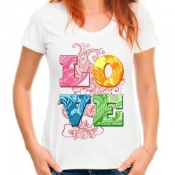 koszulka damska LOVE 7