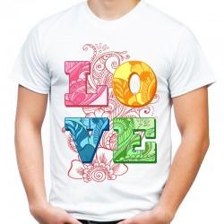 koszulka męska LOVE 7