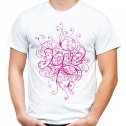 koszulka męska LOVE 8