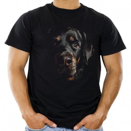 Koszulka męska z psem