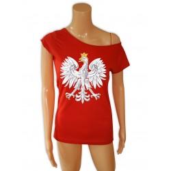 tunika czerwona z orłem