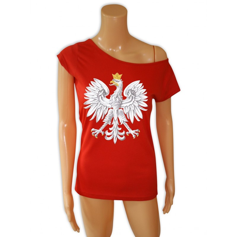 b500620b587e5b tunika czerwona z orłem - Sklep Miromiko