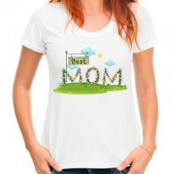 koszulka dla mamy najlepsza mama
