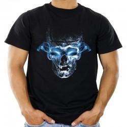 Koszulka męska z czaszką
