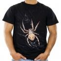 Koszulka męska z pająkiem