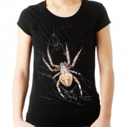 Koszulka damska z pająkiem