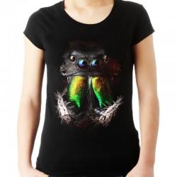 Koszulka damska z głową pająka