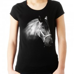 Koszulka damska z głową konia