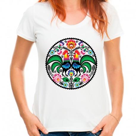 Koszulka damska folk