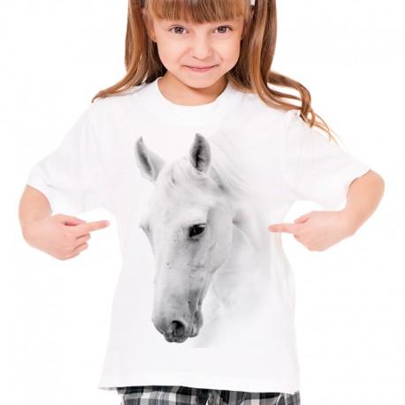 Koszulka dziecięca z głową konia