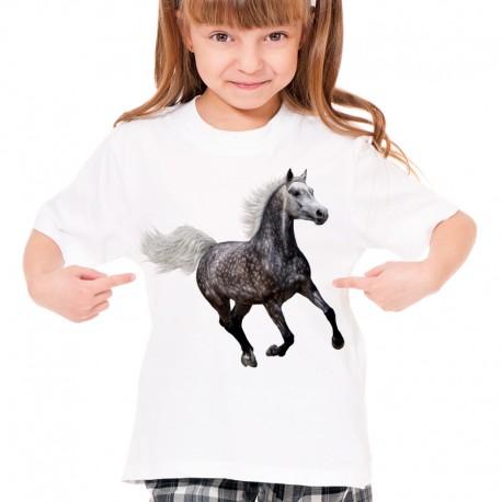 Koszulka dziecięca z koniem