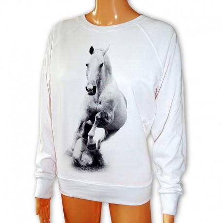Bluza damska jeździecka z koniem