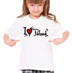 Koszulka i love Poland