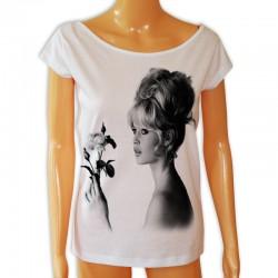 Bluzka z Brigitte Bardot