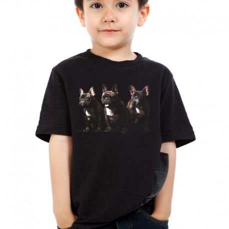 Koszulka dziecięca z Buldogiem Francuskim