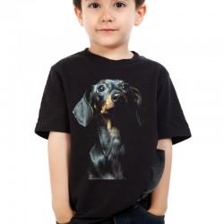Koszulka dziecięca z Jamnikiem