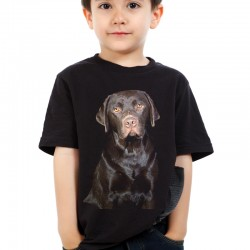Koszulka dziecięca z Labradorem
