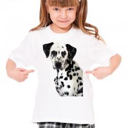 Koszulka z psem Dalmatyńczykiem