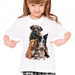 Koszulka z psami