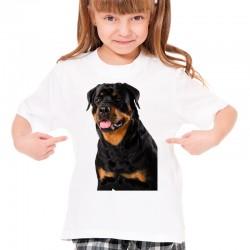Koszulka z Rottweilerem