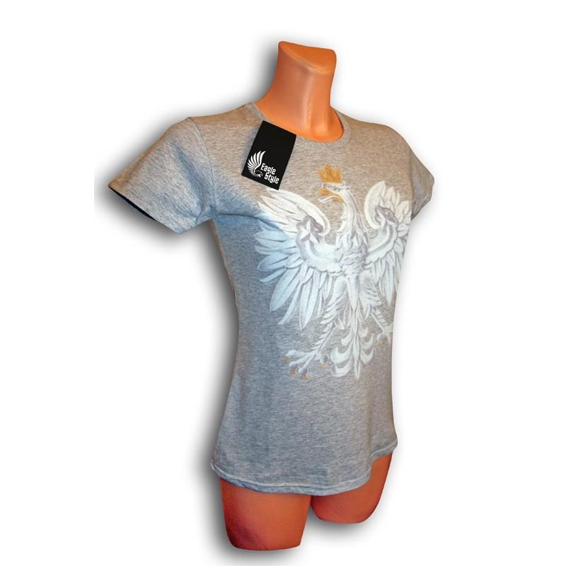 1f56c147c774bb Koszulka damska z Orłem Eagle Style - Sklep Miromiko