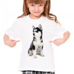 Koszulka z Husky Syberyjskim