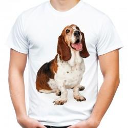 Koszulka z Bassetem