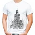 koszulka Pałac Kultury i Nauki