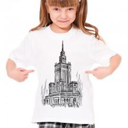Koszulka dziecięca z Pałacem Kultury i Nauki