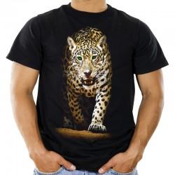 Koszulka z kotem  Jaguarem
