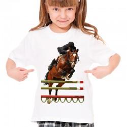 koszulka jeździecka dziecięca