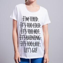 Koszulka let's go