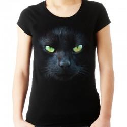 Koszulka z kotem - głową kota