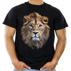 Koszulka z głową lwa