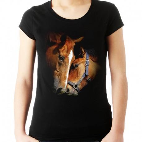Bluzka z końmi