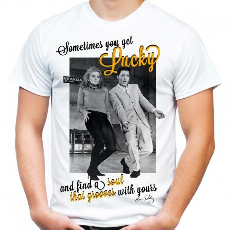 Koszulka Elvis Presley Lucky