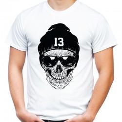 Koszulka z czaszką w czapce 13
