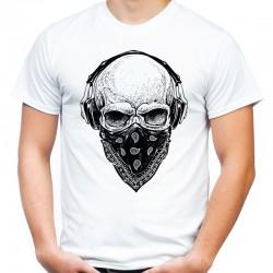 Koszulka z czaszką chusta