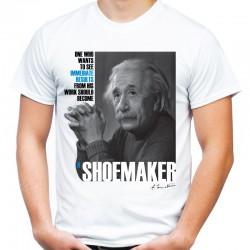 Koszulka Albert Einstein Shoemaker