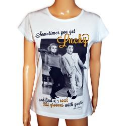 Koszulka z Elvisem Presley lucky