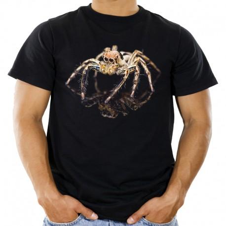 Koszulka z pająkiem skakun 3d