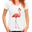 koszulka damska z flamingiem PK001