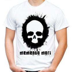 Koszulka z czaszką Memento Mori