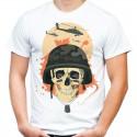 Koszulka z czaszką armia