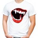 Koszulka z zębami wampira
