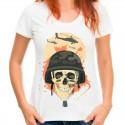 T-shirt z czaszką Armia