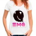 Koszulka z napisem EMO